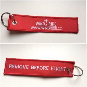 Windride - remove before flight