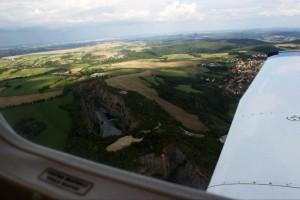 Вид на равнину Чехии