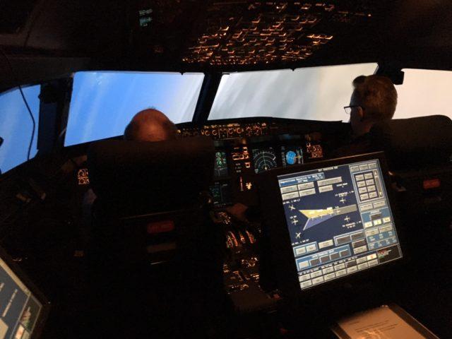 симулятор полета